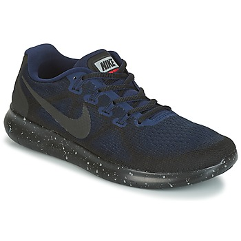 Cipők Női Futócipők Nike FREE RUN 2017 SHIELD Fekete  / Kék