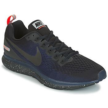 Cipők Férfi Futócipők Nike AIR ZOOM PEGASUS 34 SHIELD Fekete  / Kék
