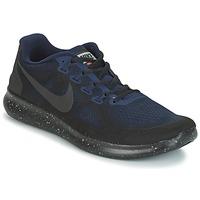 Cipők Férfi Futócipők Nike FREE RUN 2017 SHIELD Fekete  / Kék