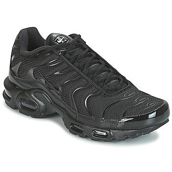 Cipők Férfi Rövid szárú edzőcipők Nike AIR MAX PLUS Fekete