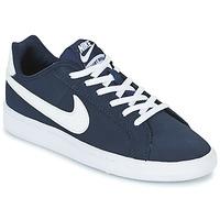 Cipők Gyerek Rövid szárú edzőcipők Nike COURT ROYALE GRADE SCHOOL Kék / Fehér