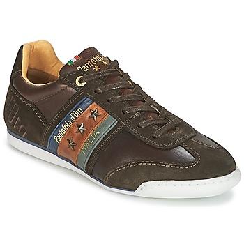 Cipők Férfi Rövid szárú edzőcipők Pantofola d'Oro IMOLA UOMO LOW Barna