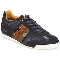 Cipők Férfi Rövid szárú edzőcipők Pantofola d'Oro IMOLA UOMO LOW Kék