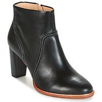 Cipők Női Bokacsizmák Clarks ELLIS BETTY Fekete