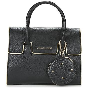 Táskák Női Kézitáskák Versace Jeans NOMU Fekete