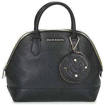Táskák Női Kézitáskák Versace Jeans EPO Fekete