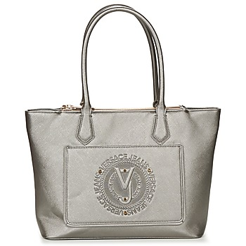 Táskák Női Válltáskák Versace Jeans ANTATAL Ezüst