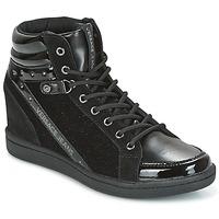 Cipők Női Magas szárú edzőcipők Versace Jeans GERFI Fekete