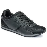 Cipők Férfi Rövid szárú edzőcipők Versace Jeans DEGI Fekete
