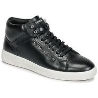 Cipők Férfi Magas szárú edzőcipők Versace Jeans TERMI Fekete