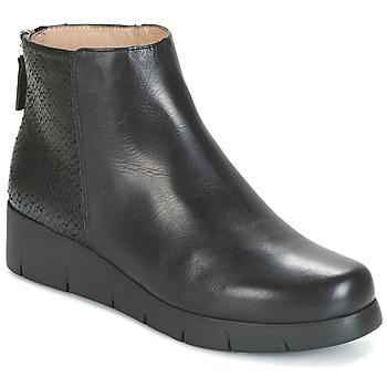 Cipők Női Csizmák Unisa FANI Fekete