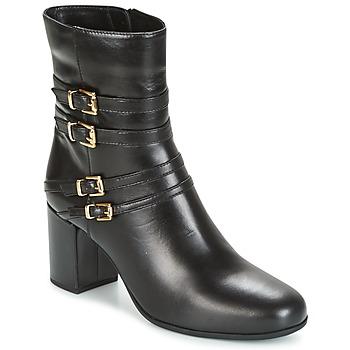 Cipők Női Bokacsizmák Unisa OPRA Fekete