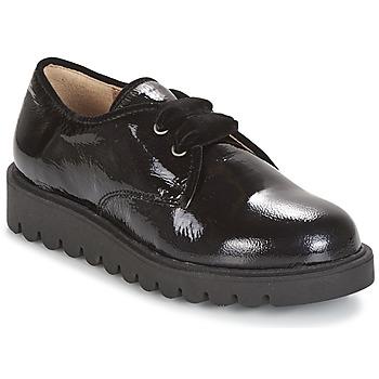 Cipők Lány Oxford cipők Unisa MICK Fekete