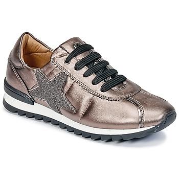 Cipők Lány Rövid szárú edzőcipők Unisa DONYA Bronz