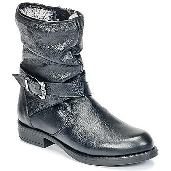 Cipők Lány Csizmák Unisa GADIN Fekete