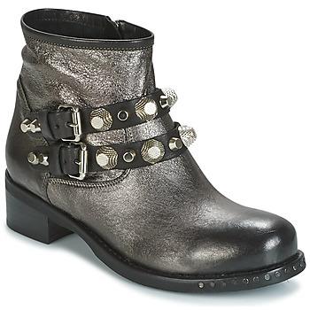 Cipők Női Csizmák Mimmu BERLO Ezüst