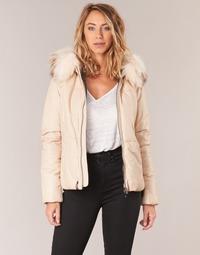 Ruhák Női Steppelt kabátok Oakwood 62479 Elefántcsont