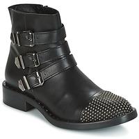 Cipők Női Csizmák Meline PESCINO Fekete