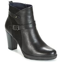 Cipők Női Bokacsizmák Dorking REINA Fekete