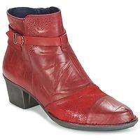 Cipők Női Bokacsizmák Dorking DALMA Piros