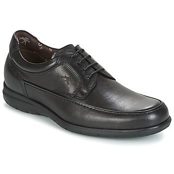Cipők Férfi Oxford cipők Fluchos LUCA Fekete