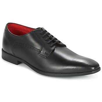 Cipők Férfi Bokacipők Base London PENNY Fekete
