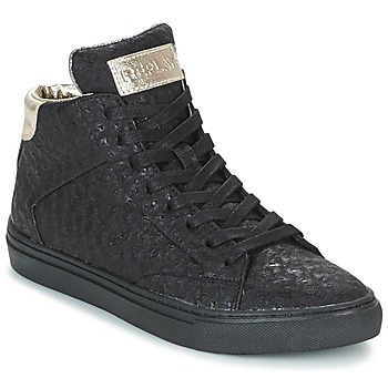 Cipők Női Magas szárú edzőcipők Replay HALL Fekete