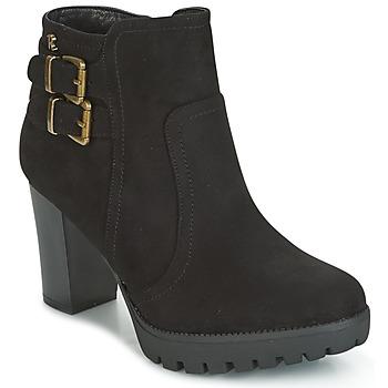 Cipők Női Bokacsizmák Refresh CALI Fekete