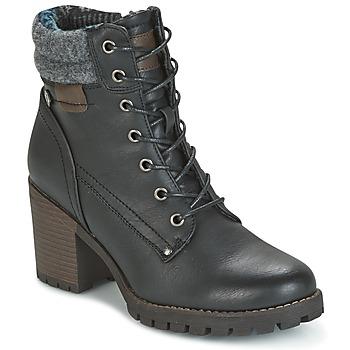 Cipők Női Bokacsizmák Refresh MARVILLE Fekete