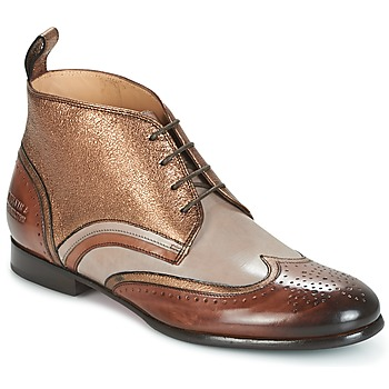 Cipők Női Csizmák Melvin & Hamilton SALLY 16 Arany