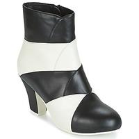 Cipők Női Bokacsizmák Lola Ramona ELSA Fehér / Fekete