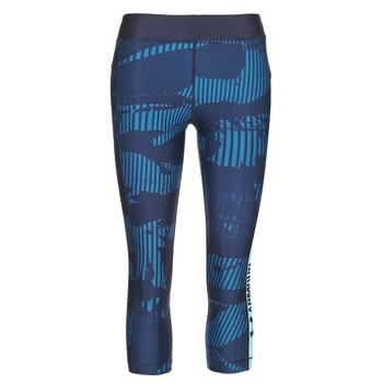 Ruhák Női Legging-ek Under Armour UA HG ARMOUR GRAPHIC CAPRI Kék