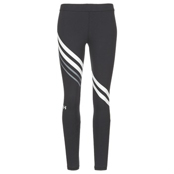 Ruhák Női Legging-ek Under Armour FAVORITE LEGGING ENGINEERED Fekete  / Fehér