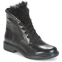 Cipők Női Csizmák Mjus CAFE LACE Fekete