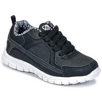 Cipők Fiú Rövid szárú edzőcipők Freegun FG VINO Fekete
