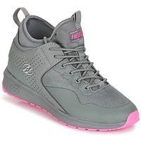 Cipők Lány Gurulós cipők Heelys PIPER Szürke / Rózsaszín