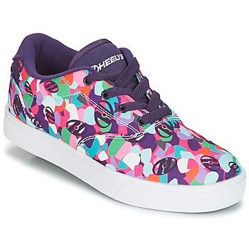 Cipők Lány Gurulós cipők Heelys LAUNCH Lila / Sokszínű