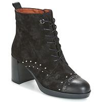 Cipők Női Bokacsizmák Hispanitas DREW 17 Fekete