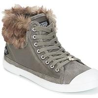 Shoes Női Magas szárú edzőcipők Le Temps des Cerises BASIC 03 Szürke