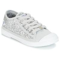 Cipők Lány Rövid szárú edzőcipők Le Temps des Cerises BROOK Ezüst