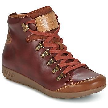 Shoes Női Magas szárú edzőcipők Pikolinos LISBOA W67 Barna