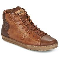 Cipők Női Magas szárú edzőcipők Pikolinos LAGOS 901 Barna