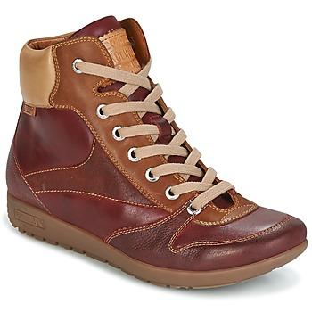 Shoes Női Magas szárú edzőcipők Pikolinos LISBOA W67 Kék