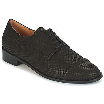 Cipők Női Oxford cipők Emma Go SHERLOCK Fekete
