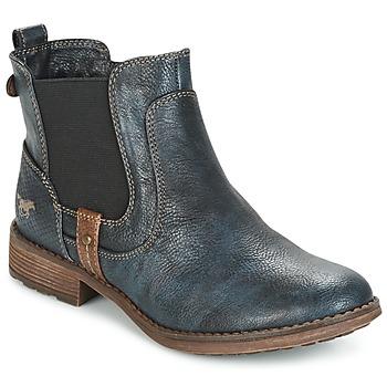 Cipők Női Csizmák Mustang NANI Tengerész