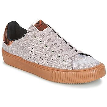 Cipők Női Rövid szárú edzőcipők Victoria DEPORTIVO LUREX Szürke