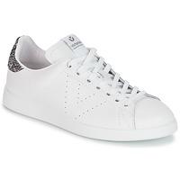 Cipők Női Rövid szárú edzőcipők Victoria DEPORTIVO BASKET PIEL Fehér / Szürke