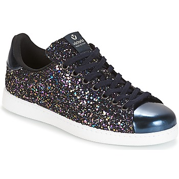 Cipők Női Rövid szárú edzőcipők Victoria DEPORTIVO BASKET GLITTER Tengerész