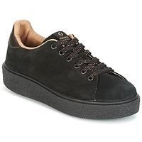 Cipők Női Rövid szárú edzőcipők Victoria DEPORTIVO SERRAJE P. NEGRO Fekete