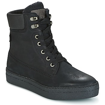 Cipők Női Magas szárú edzőcipők Bullboxer GANDIA Fekete